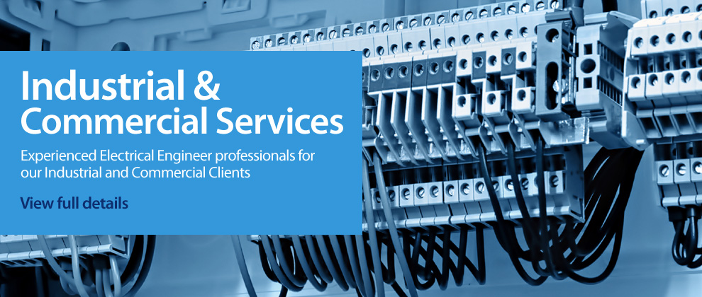 Industrial and Commercial Electrical Services Banner
