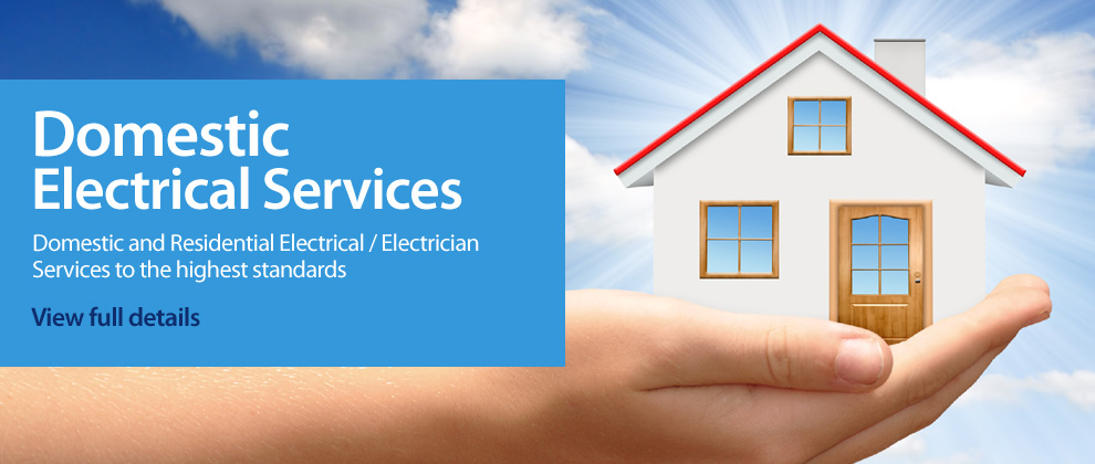 Domestic Electrical Services Banner