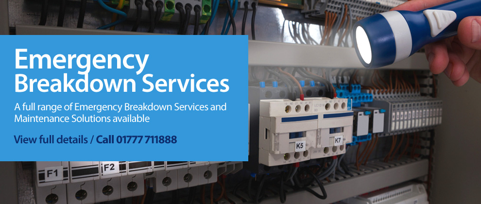 Emergency Breakdown Electrical Services Banner